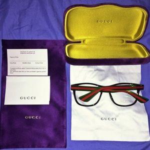 BRAND NEW Gucci Optical Frame Glasses Acetate